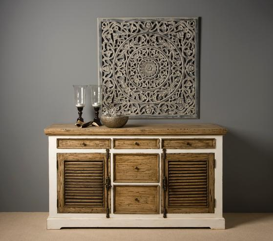 Altholz Sideboard Landhausstil