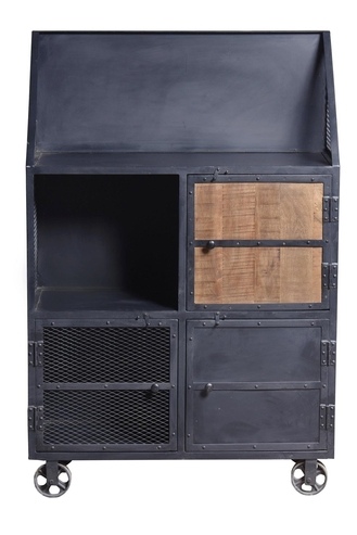 anrichte industrial design kommoden sideboards industrielle m bel bei m belhaus hamburg. Black Bedroom Furniture Sets. Home Design Ideas
