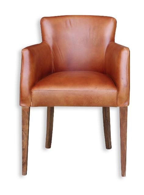 armlehnenstuhl rindleder vintage st hle alle m bel bei m belhaus hamburg. Black Bedroom Furniture Sets. Home Design Ideas