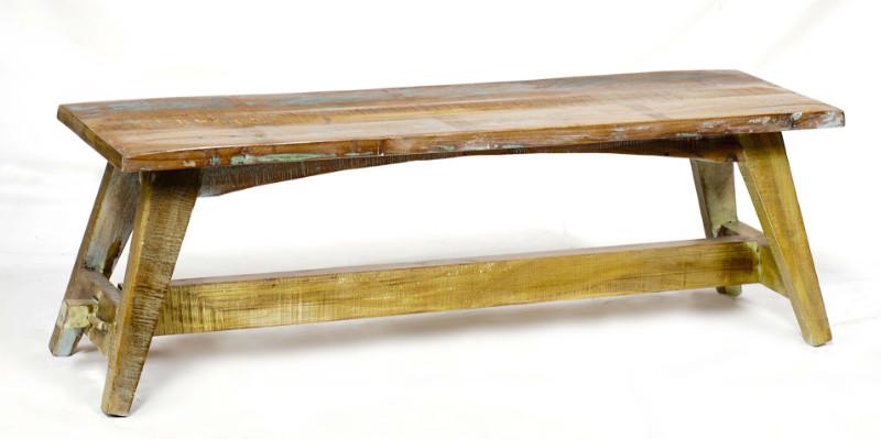 Bank aus altem Holz Shabby Chic - Sitzbänke - Vintage Möbel bei ...