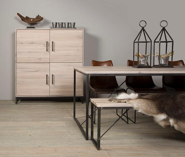 beistelltisch eiche hamburg tische industrielle m bel bei m belhaus hamburg. Black Bedroom Furniture Sets. Home Design Ideas