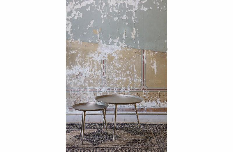 beistelltisch farbe altsilber vintage m bel bei. Black Bedroom Furniture Sets. Home Design Ideas