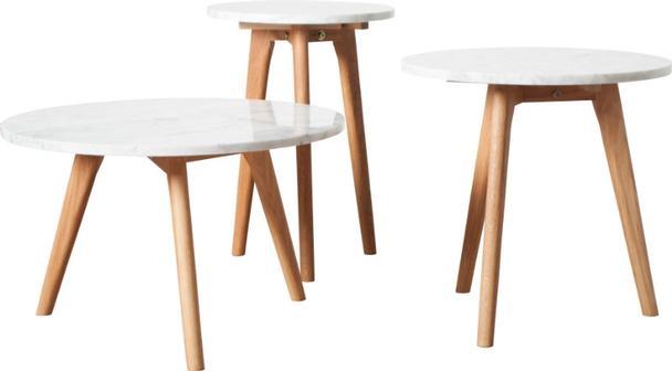 Beistelltisch modern weiss marmortisch tische design for Marmortisch modern