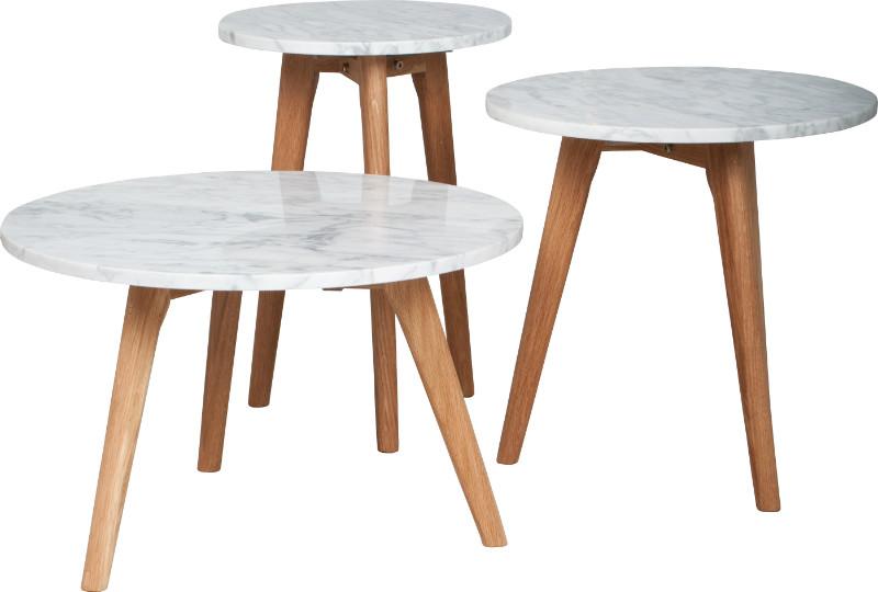 Beistelltisch Modern Weiss Marmortisch  Tische  Design  ~ Spülbecken Tisch