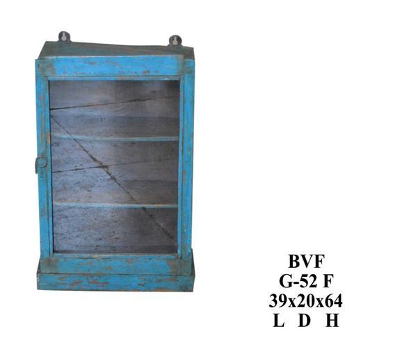 blaue shabby chic vitrine zum h ngen produkte m belhaus hamburg. Black Bedroom Furniture Sets. Home Design Ideas
