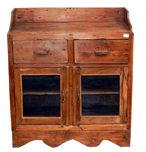 brauner schrank aus massivem holz wohnzimmer wohnbereiche bei m belhaus hamburg. Black Bedroom Furniture Sets. Home Design Ideas