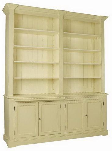 b cherregal gro mit t ren schr nke landhaus m bel bei. Black Bedroom Furniture Sets. Home Design Ideas