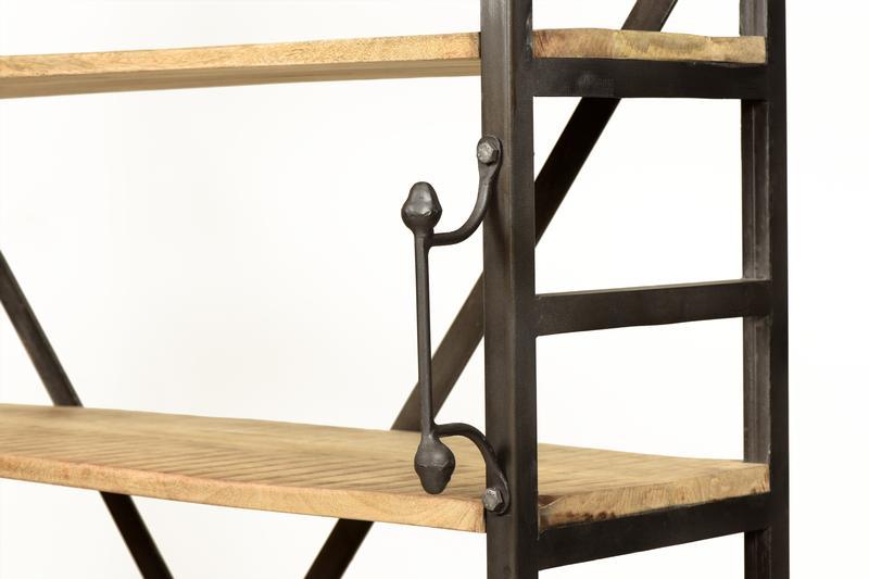 b cherregal industrial chic regale industrielle m bel bei m belhaus hamburg. Black Bedroom Furniture Sets. Home Design Ideas