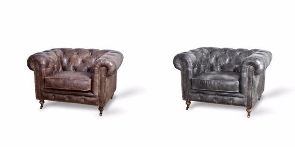 chesterfield sessel vintage leder sessel industrielle m bel bei m belhaus hamburg. Black Bedroom Furniture Sets. Home Design Ideas
