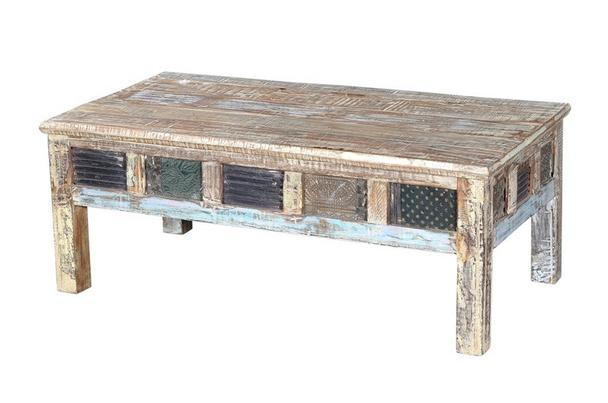 Couchtisch altholz wohnzimmertische wohnzimmer for Indische beistelltische