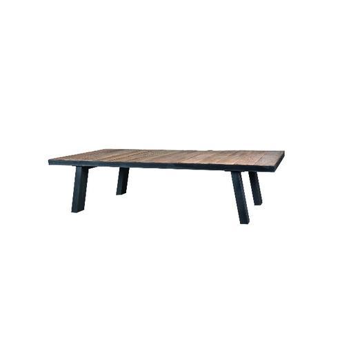Couchtisch Aus Metall Mit Platte Ulmenholz Tisch Modern Bei