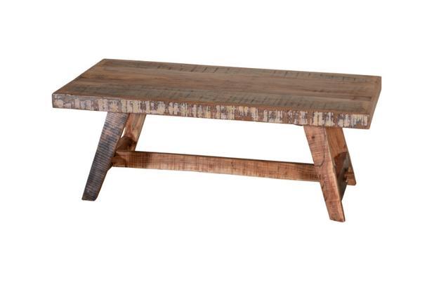 Couchtisch Aus Recyceltem Holz Tisch Bei Möbelhaus Hamburg