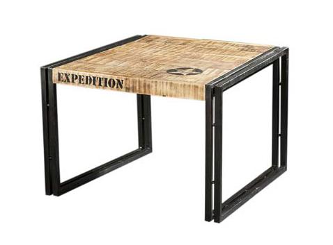 couchtisch industrial chic tische industrielle m bel bei m belhaus hamburg. Black Bedroom Furniture Sets. Home Design Ideas