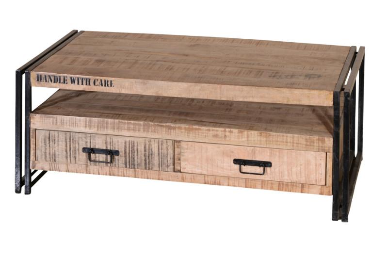 couchtisch vintage stil tische industrielle m bel bei m belhaus hamburg. Black Bedroom Furniture Sets. Home Design Ideas
