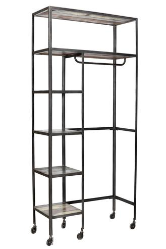eisen garderobe industriell loft style schr nke industrielle m bel bei m belhaus hamburg. Black Bedroom Furniture Sets. Home Design Ideas