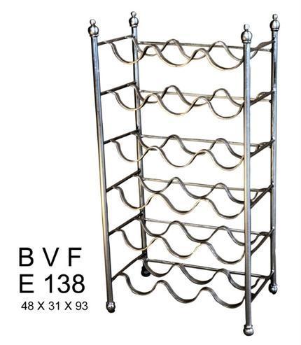 eisen weinregal wei weinregale regale industrielle. Black Bedroom Furniture Sets. Home Design Ideas