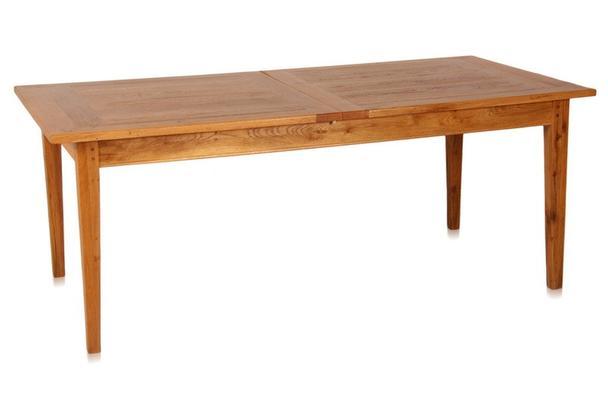 Esstisch eiche ausziehbar  Esstisch aus Eiche - ausziehbar - Tische - Landhaus Möbel bei ...