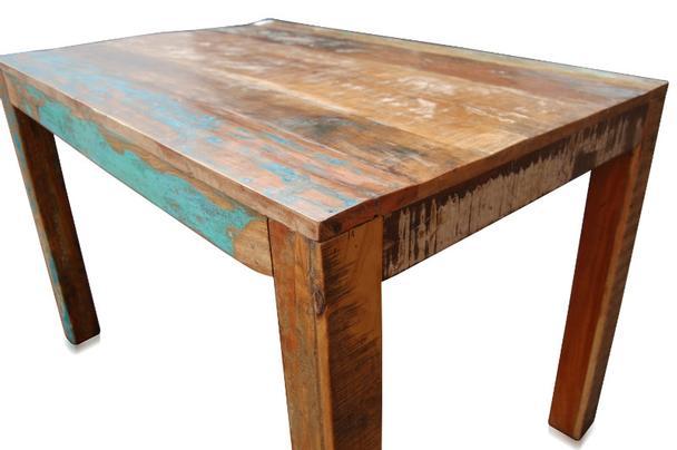 Esstisch Aus Recyceltem Holz Shabby Chic In Verschiedenen Größen