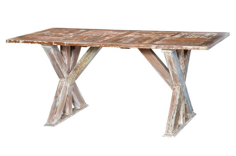 Indischer Tisch esstisch indisch aus altholz tische landhaus möbel bei möbelhaus