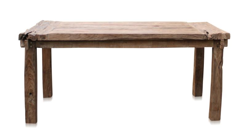 esstisch railway rustikal teakholz esstische esszimmer. Black Bedroom Furniture Sets. Home Design Ideas
