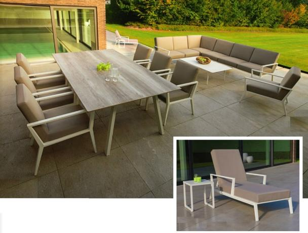 Terrassenmöbel  Garten Lounge Set Terrassenmöbel - Loungemöbel - Garten bei ...