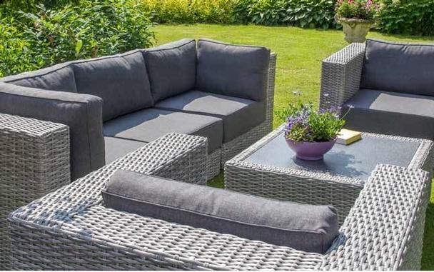Garten Loungeset Hamburg Modular - Garten Möbel bei