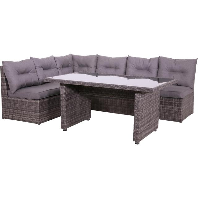 garteneckbank frankfurt mit kissen und tisch polyrattan gartenm bel gartenm bel nach. Black Bedroom Furniture Sets. Home Design Ideas