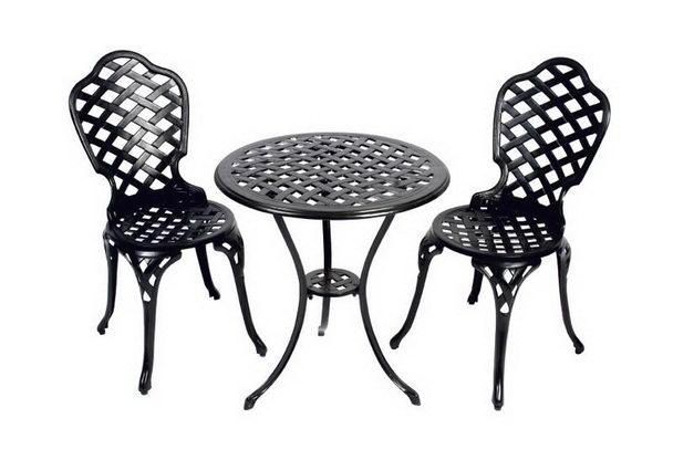 gartenset 2 st hle und 1 tisch metall gartenm bel gartenm bel nach material garten bei. Black Bedroom Furniture Sets. Home Design Ideas
