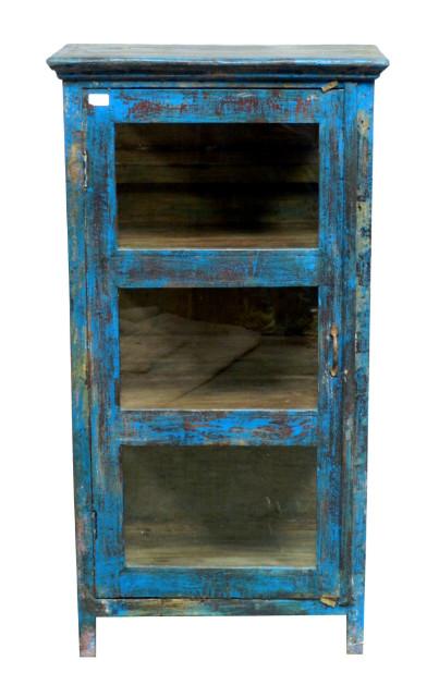 Glasvitrine blau indisch wohnzimmer wohnbereiche bei for Sofa indisch