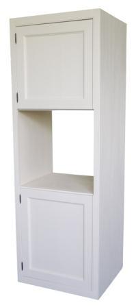 Küchenschrank weiß landhausstil  Hochschrank weiß Küchenschrank Landhausstil - Küche - Landhaus Möbel ...