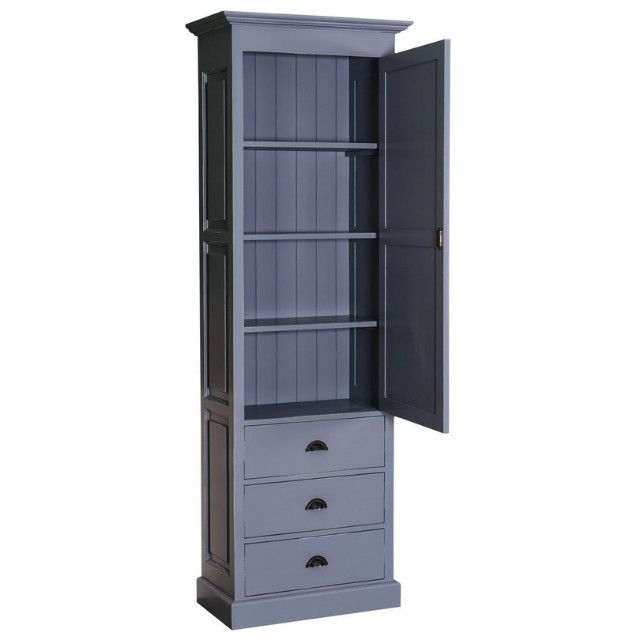 hohes schmales regal landhaus kleinm bel alle m bel bei m belhaus hamburg. Black Bedroom Furniture Sets. Home Design Ideas