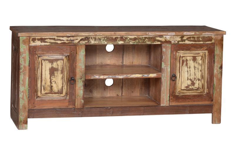 indisches tv sideboard rustikal lowboards kommoden. Black Bedroom Furniture Sets. Home Design Ideas