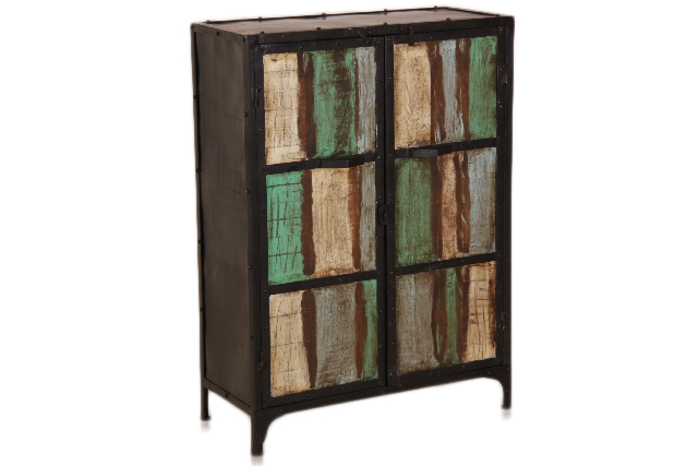 industrial chic kommode recycling kommoden sideboards. Black Bedroom Furniture Sets. Home Design Ideas