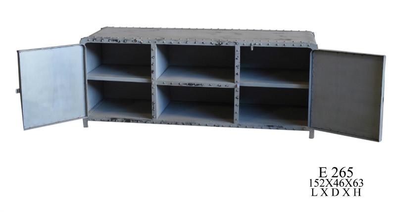 industrial chic tv sideboard eisen tv sideboards. Black Bedroom Furniture Sets. Home Design Ideas