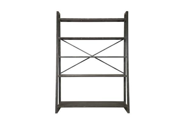 industrielles metall regal schwarz schr nke alle m bel. Black Bedroom Furniture Sets. Home Design Ideas