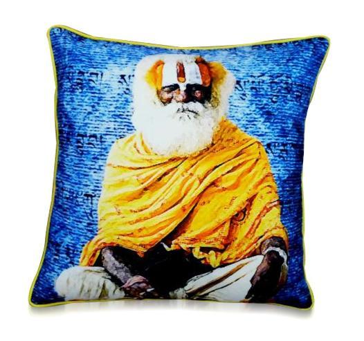 kissen mit indischem bild accessoires bei m belhaus hamburg. Black Bedroom Furniture Sets. Home Design Ideas
