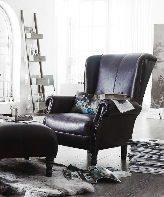 klassischer ohrensessel sofas sessel st hle bei m belhaus hamburg. Black Bedroom Furniture Sets. Home Design Ideas