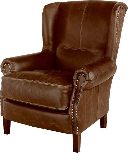 klassischer ohrensessel leder sofas sessel st hle bei. Black Bedroom Furniture Sets. Home Design Ideas
