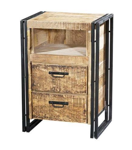 kleiner schrank mit schubladen industriell industrielle m bel bei m belhaus hamburg. Black Bedroom Furniture Sets. Home Design Ideas