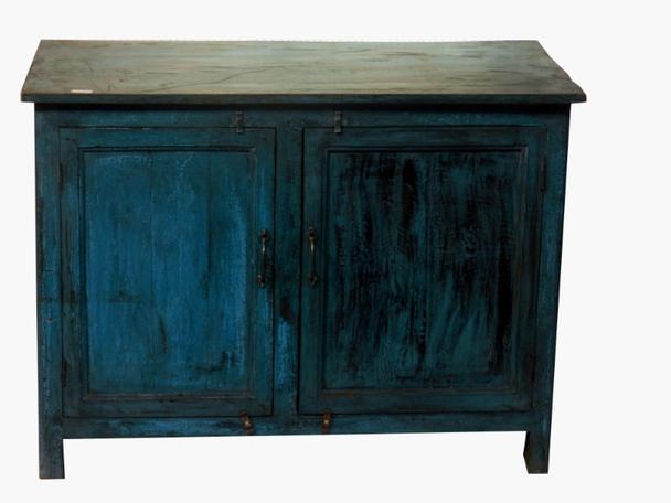 Kommode Antik Blau Vintage Sideboard Bei Mobelhaus Hamburg
