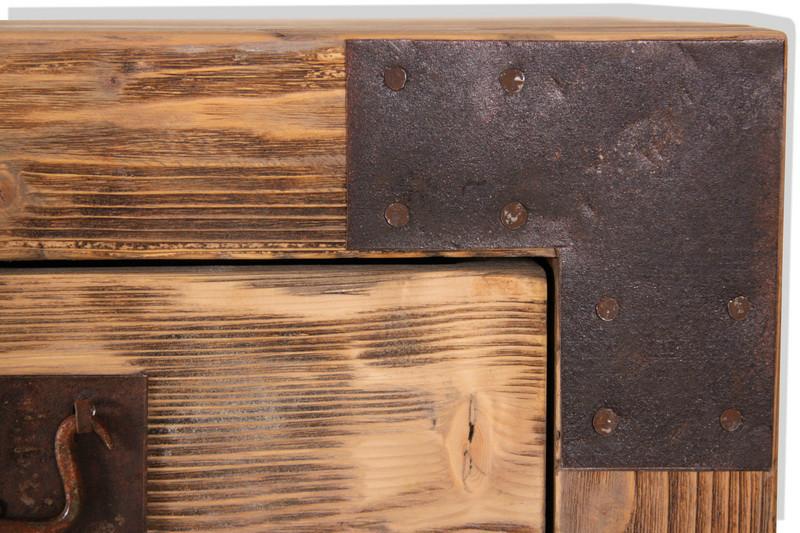 kommode auf rollen kommoden sideboards industrielle. Black Bedroom Furniture Sets. Home Design Ideas