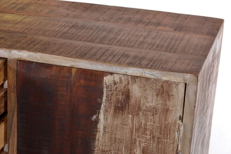 Kommode aus holz mit eisen untergestell kommoden for Sideboard untergestell