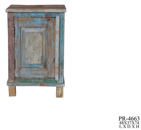 Kommode Bunt Aus Indien Sheeshamholz Vintage Sideboard Bei