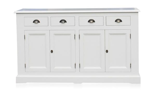 Kommode Sideboard weiß Regal Landhaus Landhausstil Shabby Chic