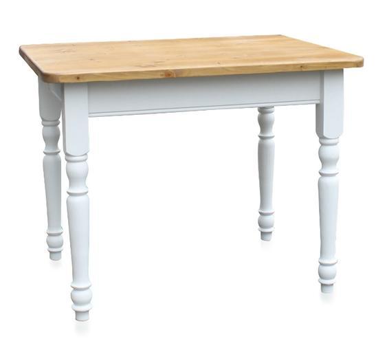 landhaus esstisch mit gedrechselten beinen wei tisch. Black Bedroom Furniture Sets. Home Design Ideas