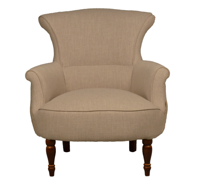 Landhaus Sessel mit Holzgestell - Sofas, Sessel & Stühle bei ...