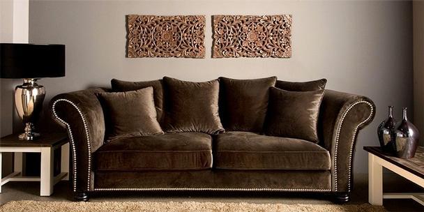 Elegant Landhaus Sofa Romantisch