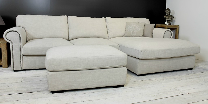 landhausstil loungebank aus stoff sofas sessel st hle bei m belhaus hamburg. Black Bedroom Furniture Sets. Home Design Ideas
