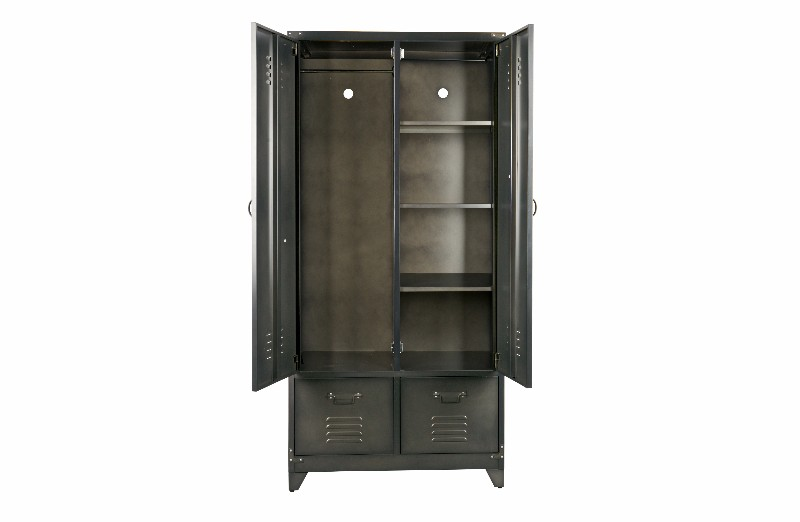 lockerschrank metall kleiderschr nke schr nke vintage m bel bei m belhaus hamburg. Black Bedroom Furniture Sets. Home Design Ideas
