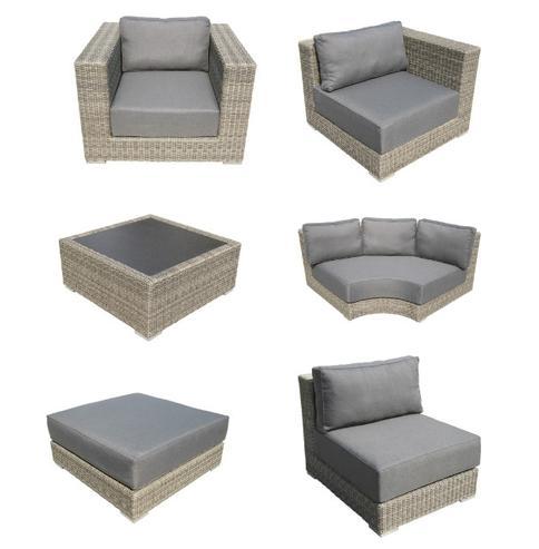 Lounge Gartenmöbel modular - Polyrattan Gartenmöbel - Gartenmöbel ...